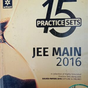 Arihant 15 Practice Sets for JEE Mains