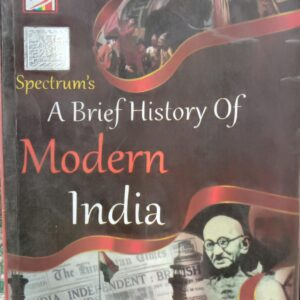 A Brief History of Modern India Book