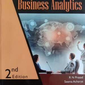 Fundamentals of Business Analytics Book By Wiley