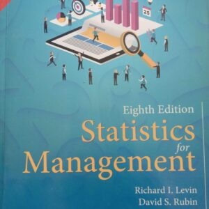 Statistics for Management by Levin and Rubin